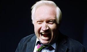 David Dimbleby photographed at the BBC