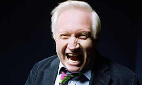 David Dimbleby photographed at the BBC