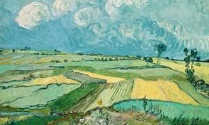 Wheat fields van gogh