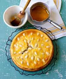 Alison Henderson's baked cheesecake