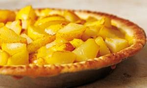Nigel Slater's simple pear tart