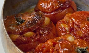 Butter-bean tomatoes