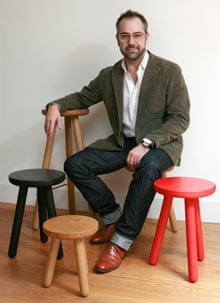 Furniture designer Paul de Zwart