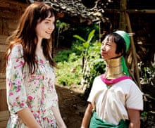 Lily Cole and Karenni woman