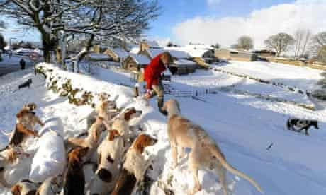 snow hunt yorkshire