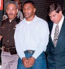 Mike Tyson handcuffs