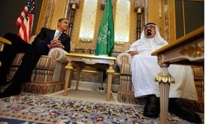 Barack Obama, King Abdullah