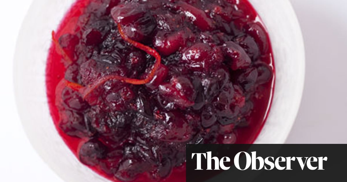 Nigel Slater S Classic Cranberry Sauce Recipe Food The Guardian