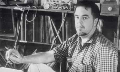 Alan Lomax in Studio