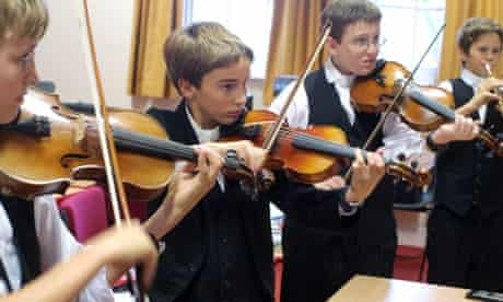 music lesson at Eton College