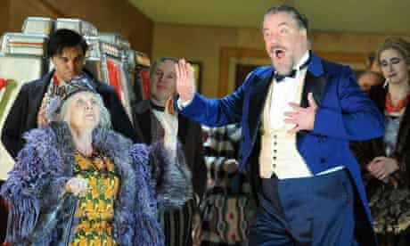 Susan Bickley and John Tomlinson in The Gambler