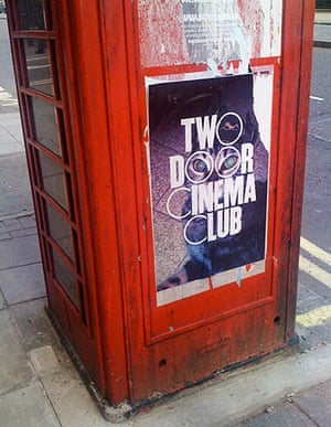 Show and Tell: PSB: poster on phone box