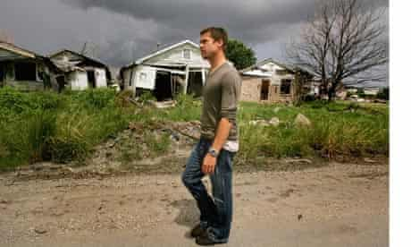 Brad Pitt And Global Green USA Visit New Orleans