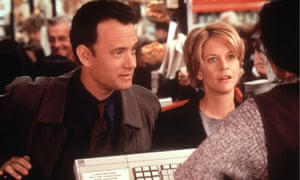 Tom Hanks and Meg Ryan in You've Got Mail, based around AOL's email service.