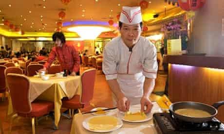 Chef Shing Bun Tsang at Glamorous