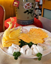 Glamorous's dim sum with char sui buns