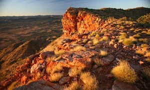 the Dingo's Nose in the MacDonnell Ranges near Alice Springs