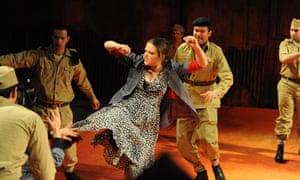 Carmen performed by Pimlico Opera in Wandsworth Prison