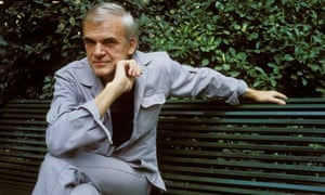 Milan Kundera in Paris