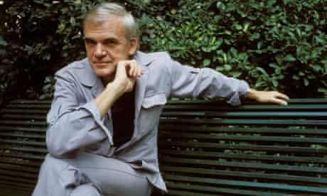 Milan Kundera in Paris