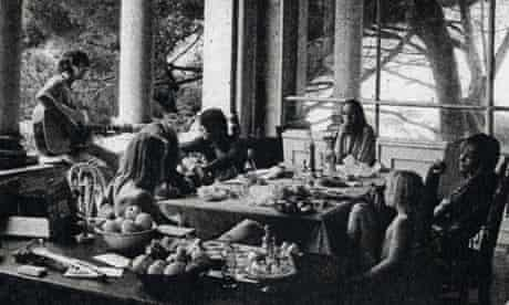 The Stones and their entourage at Villa Nellcote, France, 1971