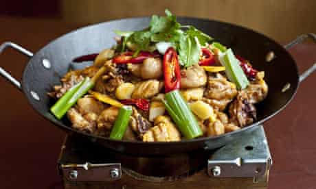 The Golden Day's dry pot chicken