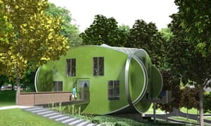 Maggie's Centre designed by Piers Gough