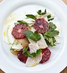 Bristol Lido's fennel, blood orange and potato salad
