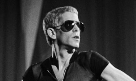 Lou Reed on stage In Brussels