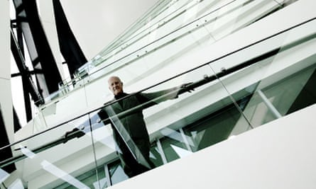 Norman Foster at the Gherkin.