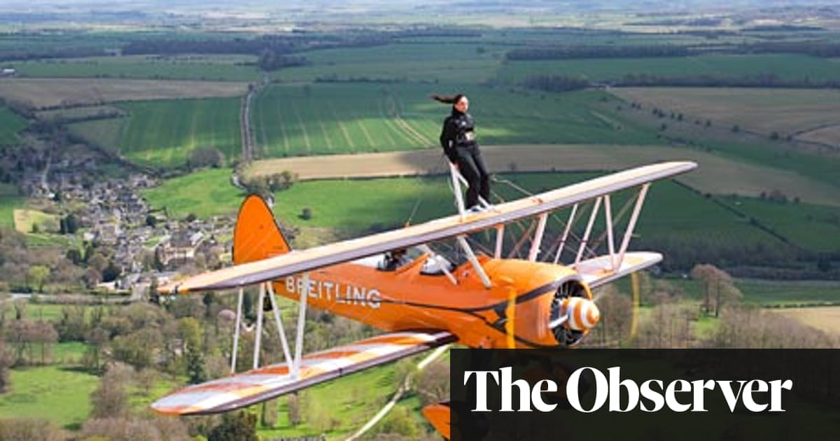 The art of aerobatic wing walking | Travel | The Guardian