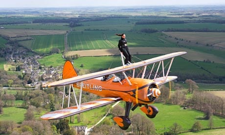 The Art Of Aerobatic Wing Walking Travel The Guardian