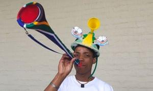 vuvuzela vendor