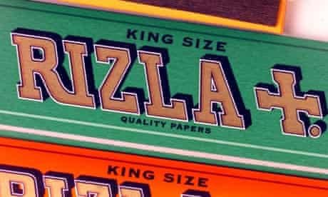 Packets of Rizla