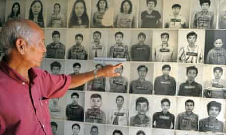Tuol Sleng prison survivor Chum Mey