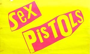 Sex Pistols album poster