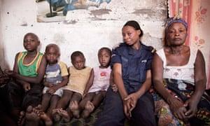Chantalle, Congo forensic investigator