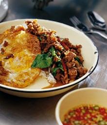 Stir-fried minced beef
