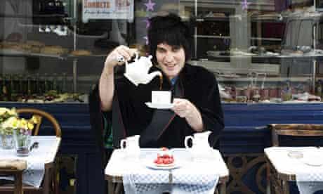 Noel Fielding at Maison Bertaux, Soho, London