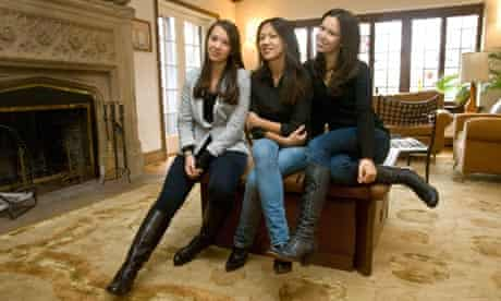 Author Amy Chua daughters