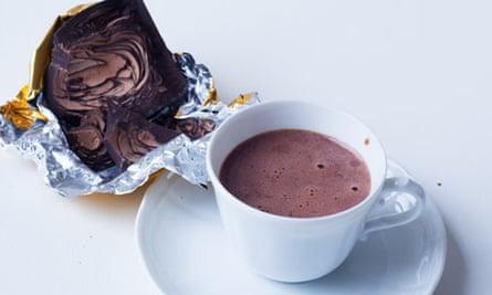 Nigel Slater's classic hot chocolate recipe