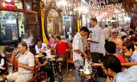 Egypt Cairo Cafe