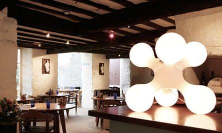 L'Eclume Restaurant.