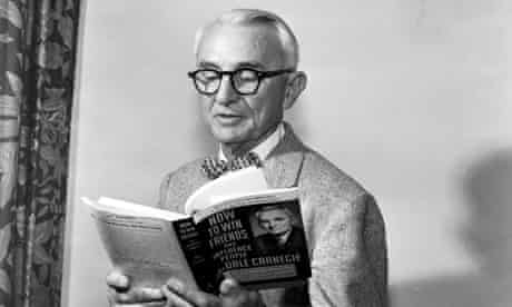 Dale Carnegie, author of How to win Friends and Influence People