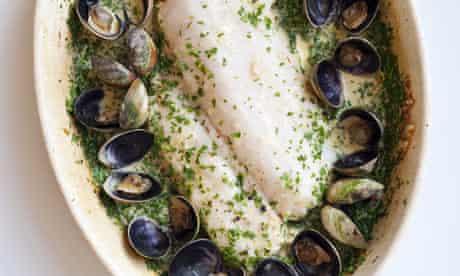 hake with green sauce