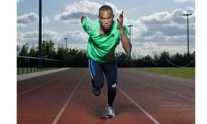 conrad williams sprinter runner athelete