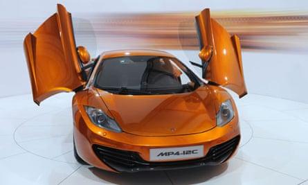 McLaren supercar, John Naughton