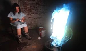 Blackout actress and poltergeist