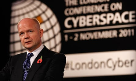 William Hague addresses cyberspace conference