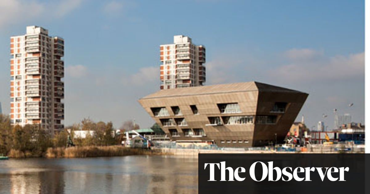Library Has Been Sitting Empty Awaiting >> Canada Water Library Review Art And Design The Guardian